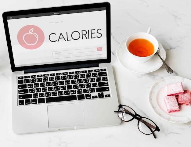 Santé bien-être régime exercice concept organique