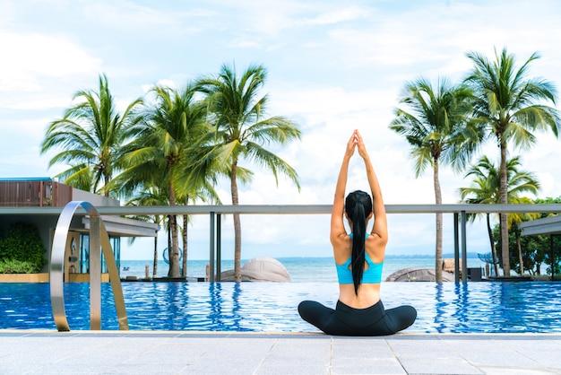 La santé en plein air paysage tropical tan