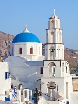 Santorini, pyrgos, eglise de theotokaki