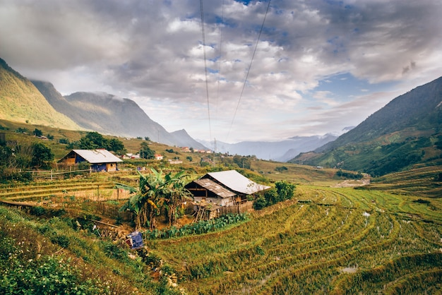 Sapa, au nord du vietnam