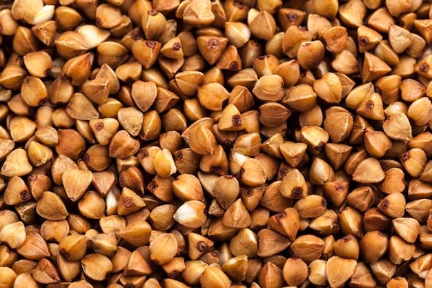 Sarrasin photographie de haute qualité de gruau de sarrasin de première qualité