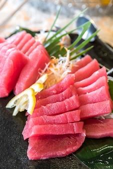 Sashimi au thon d'otoro