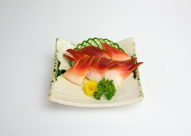Sashimi hokkigai ou surf calm of japanese food