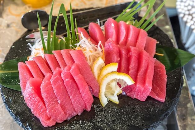 Sashimi de thon d'otoro