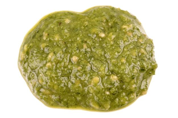Sauce au pesto vert