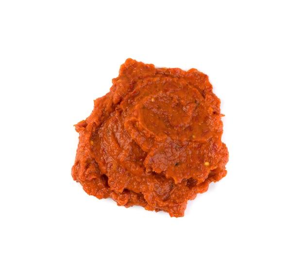 Sauce marinara isolée