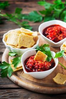 Sauce mexicaine piquante aux piments