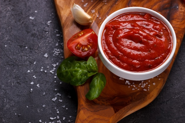 Sauce tomate italienne traditionnelle