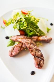 Saucisse salade