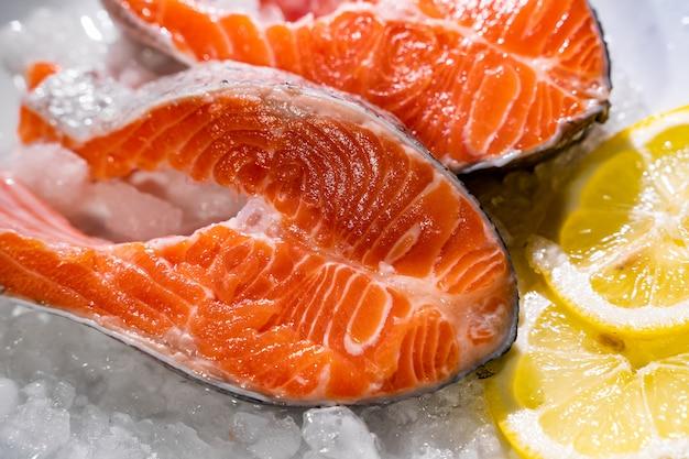 Saumon au citron et au poivre