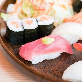 Saumon japon gourmet algues régime