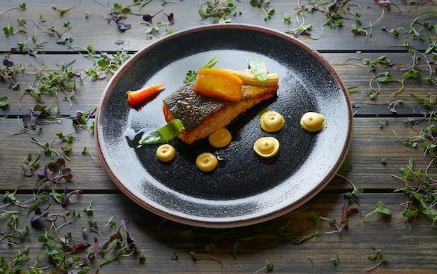 Saumon norvégien braisé au curry