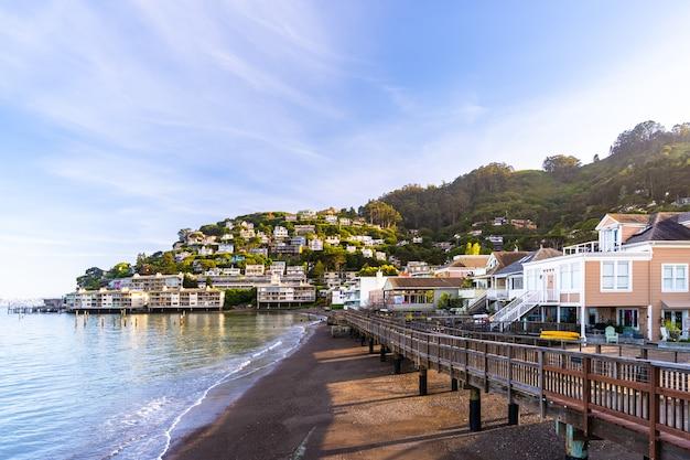 Sausalito resort town pour les habitants de san francisco