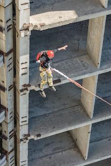 Saut à cordes sportives extrêmes
