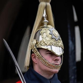 Sauveteur de la queens household cavalry