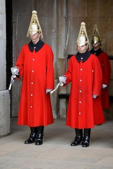 Sauveteurs de la queens household cavalry