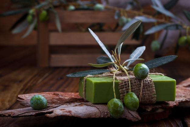 Savon artisanal à l'huile d'olive