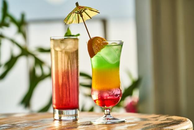 Savoureuse boisson alcoolisée dans un hôtel