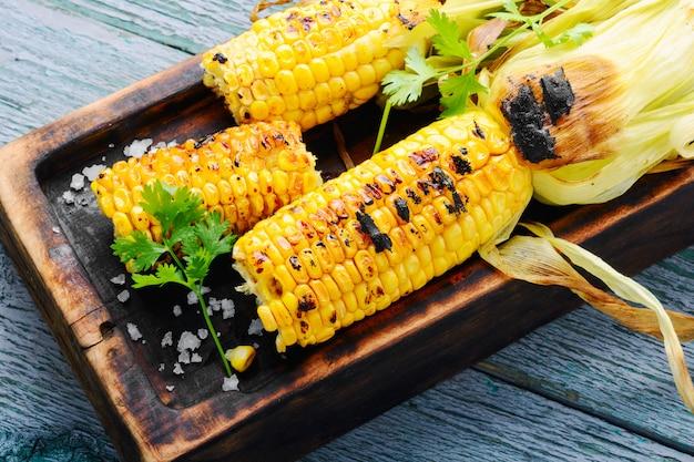 Savoureux maïs grillé