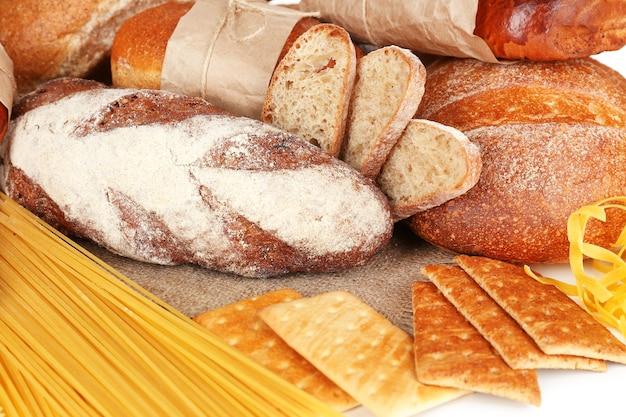 De savoureux produits à base de farine se bouchent
