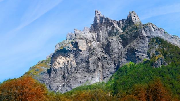 Scène des alpes françaises