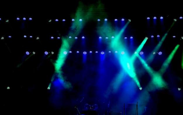 Scène gratuite avec lumières, dispositifs d'éclairage.