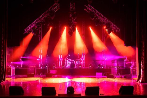 Scène libre avec lumières