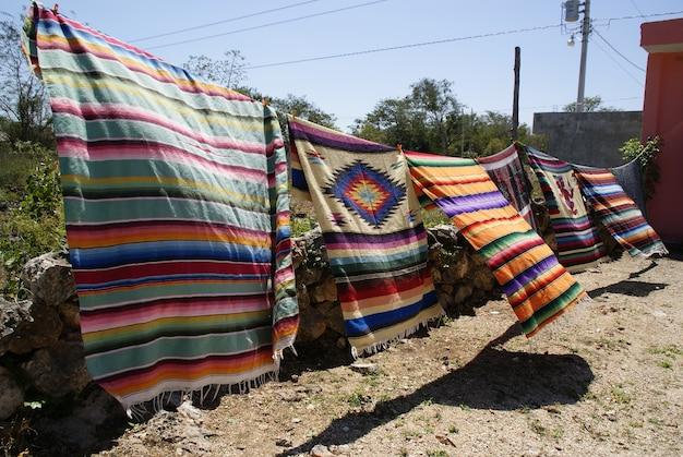 Scènes mexicaines à chichen itza