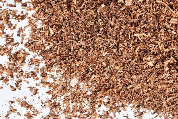 Sciure de bois brun