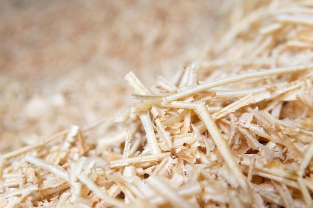Sciure de bois ou texture de la poussière de bois, sciure de bois se bouchent