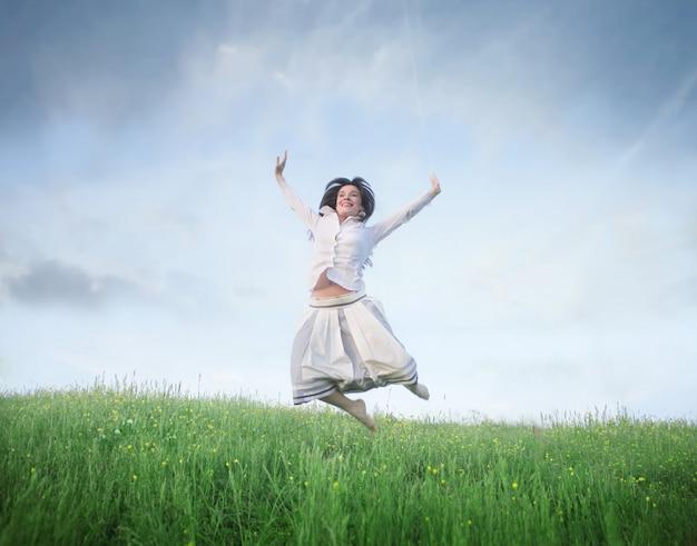 Se sentir libre au printemps