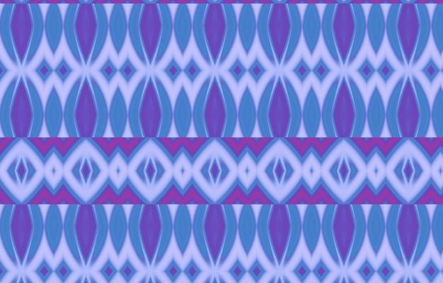 Seamless ikat pattern abstract background pour textile design papier peint textures de surface wrappin
