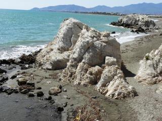 Seascape sur la mer méditerranée