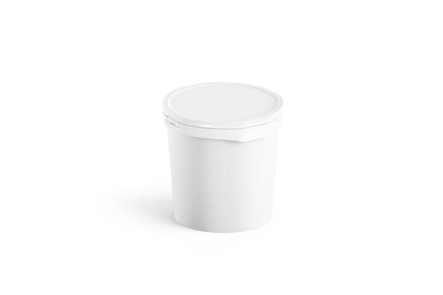 Seau à glace blanc vierge