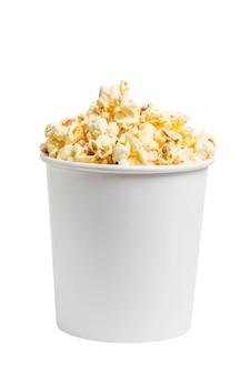 Un seau de pop-corn