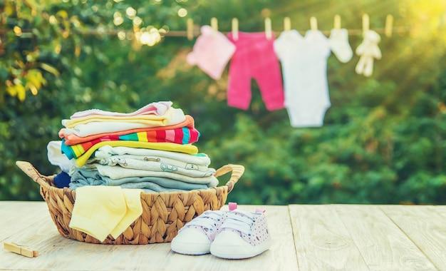Séchage des vêtements à l'air frais