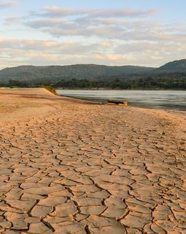 Sécheresse terrestre - effet de serre et réchauffement climatique