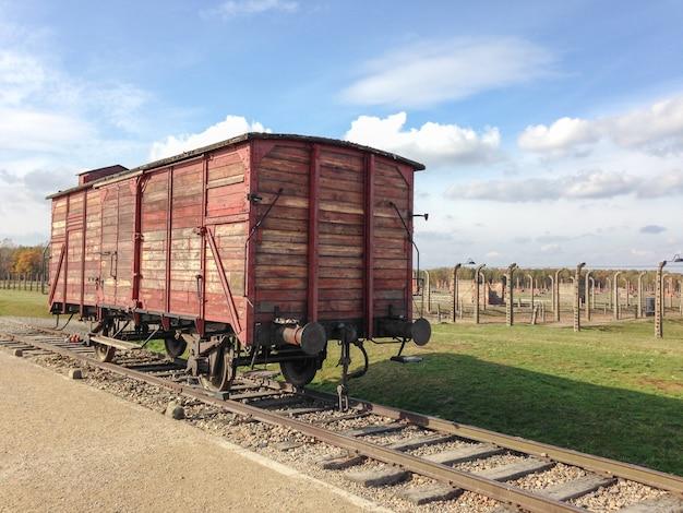 Seconde Guerre Mondiale - Holocauste Des Voitures De Train Photo Premium
