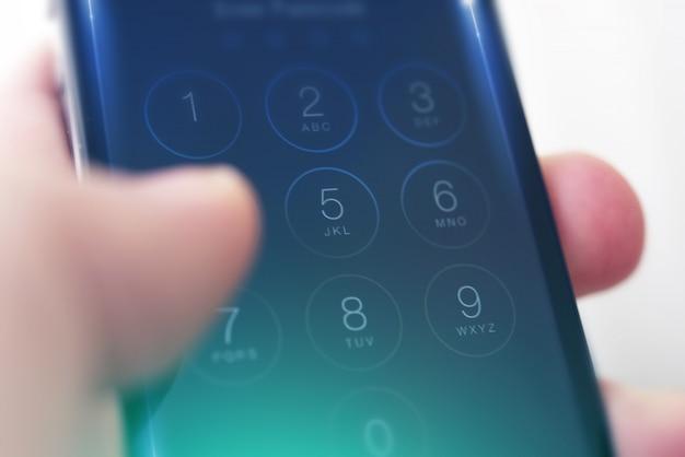 Sécurité des codes d'accès mobiles