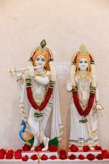Seigneur krishna et radha
