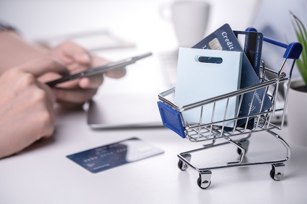 Séjour à domicile en ligne paiement électronique par carte de crédit