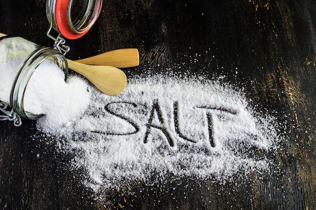 Le sel comme ingrédient de cuisine