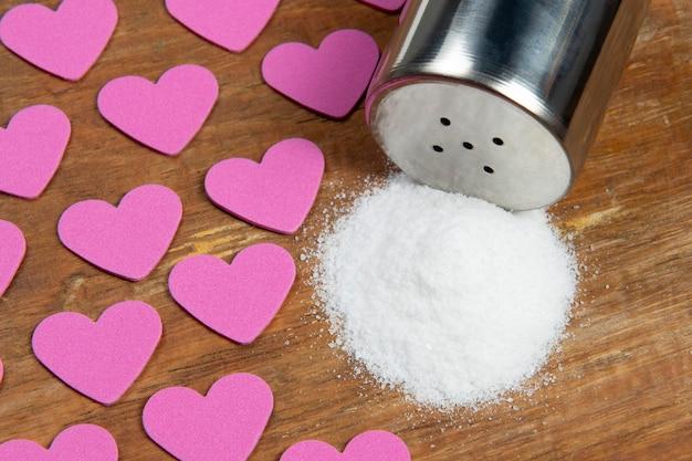 Sel provoquant une hypertension artérielle et des comorbidités cardiaques