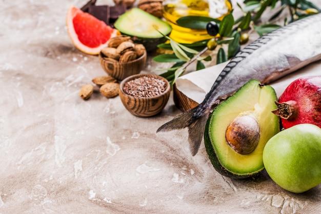 Sélection d'aliments pour un coeur en santé