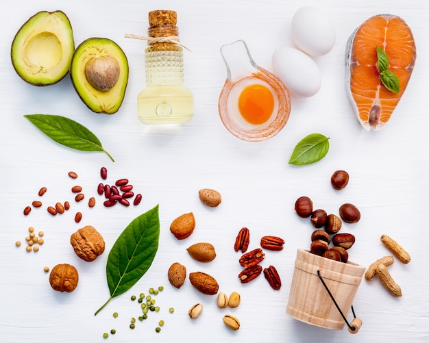 Sélection des sources alimentaires d'oméga 3.
