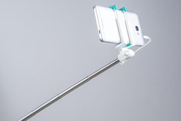 Selfie stick extensible connecté au téléphone intelligent