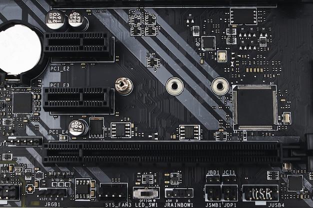 Semi-conducteur de carte de circuit électronique et matériel de carte mère. composante ingénierie de l'information.