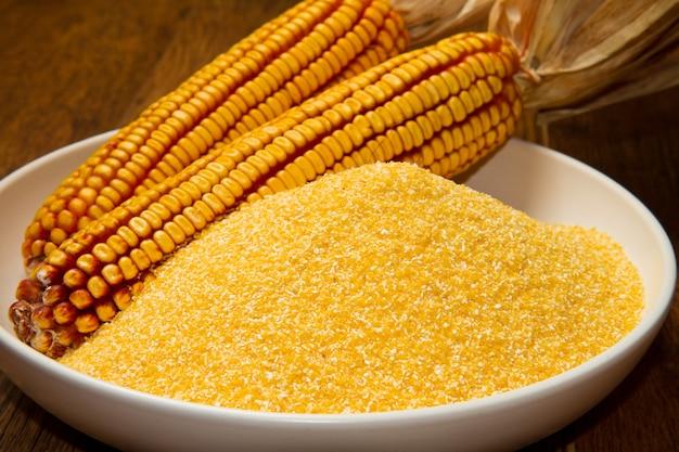 Semoule de maïs
