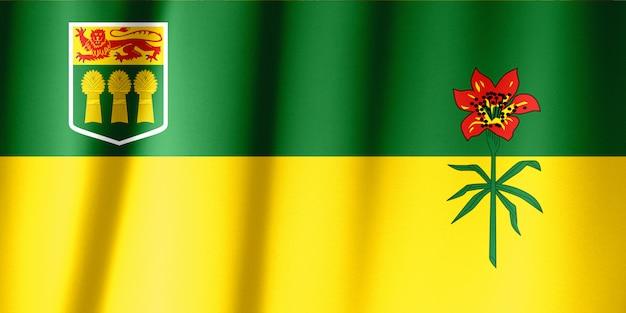 Série de drapeaux des provinces canadiennes - saskatchewan