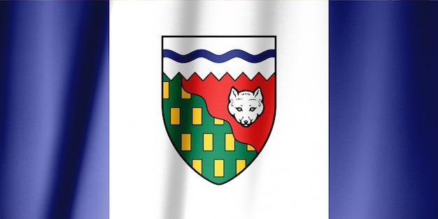 Série de drapeaux des provinces canadiennes - territoires du nord-ouest